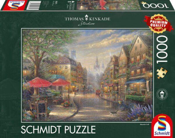 Schmidt Puzzle - Café in Munich 1000 db
