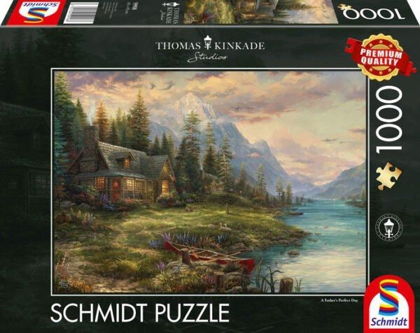 Schmidt Puzzle - An outing on Fathers Day 1000 db