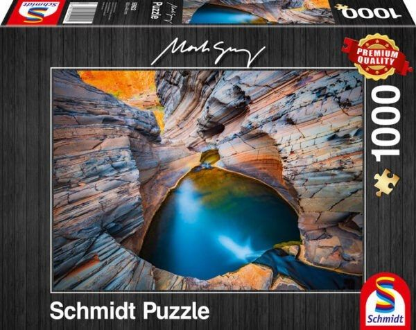 Schmidt Puzzle - Indigo 1000 db