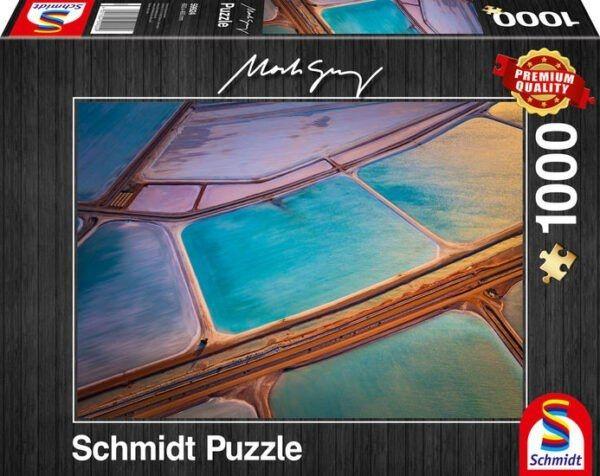 Schmidt Puzzle - Pastels 1000 db