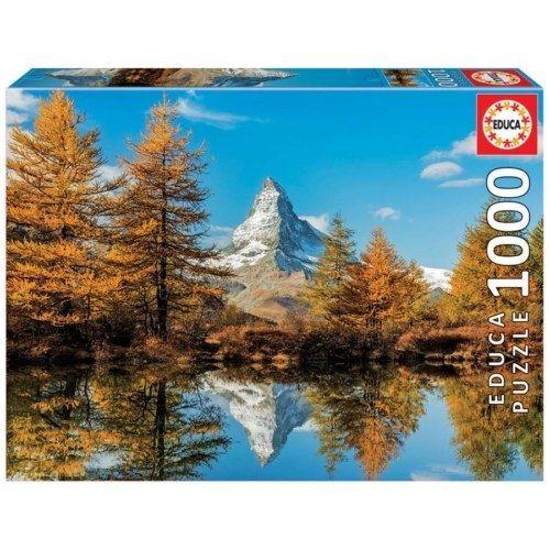 Educa Puzzle - A Matterhorn ősszel 1000 db