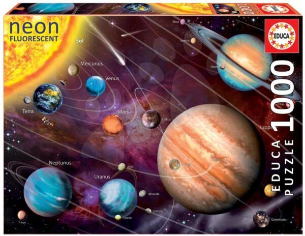 Educa Puzzle - Naprendszer 1000 db