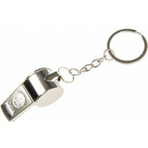 Kulcstartós fém síp