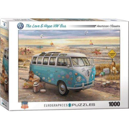 EuroGraphics - The Love & Hope VW Bus 1000 db