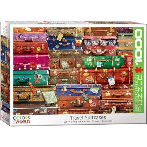 EuroGraphics - Travel Suitcases 1000 db