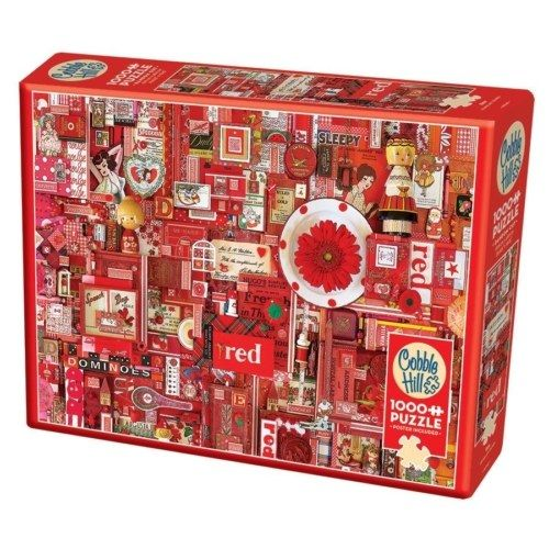 Cobble Hill Puzzle - The Rainbow Project - Red 1000 db