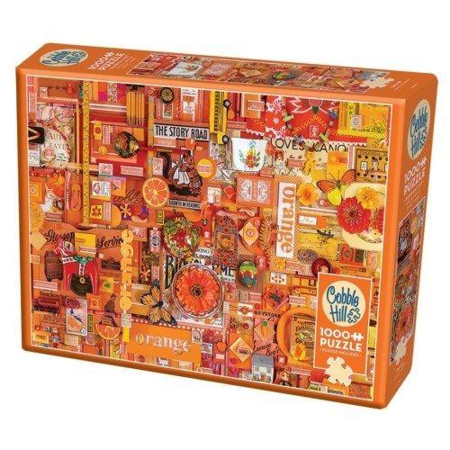 Cobble Hill Puzzle - The Rainbow Project - Orange 1000 db