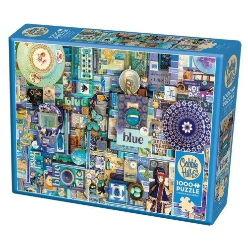 Cobble Hill Puzzle - The Rainbow Project - Blue 1000 db