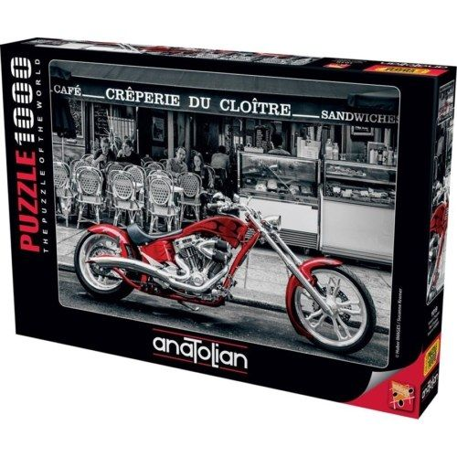 Anatolian Puzzle - Red Chopper 1000 db