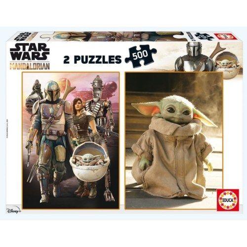 Educa Puzzle - Star Wars Mandalorian 2x500 db