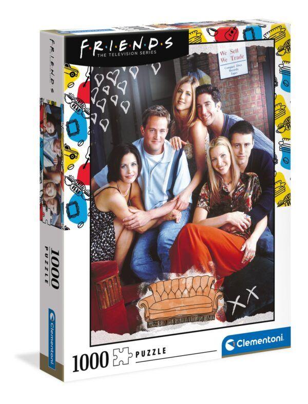 Clementoni Puzzle - Friends Jóbarátok 1000 db