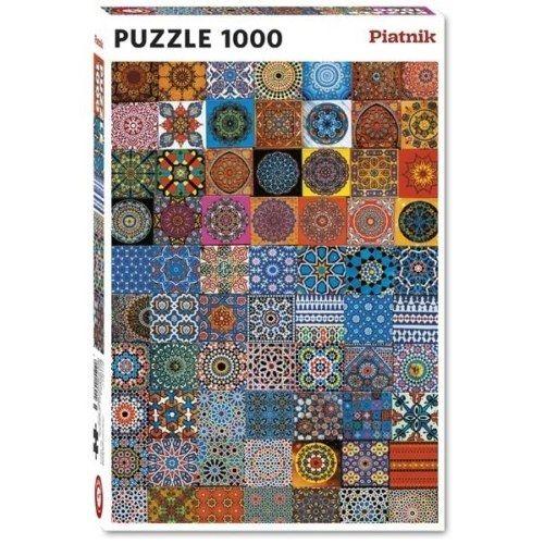 Piatnik Puzzle - Színes hűtőmágnesek 1000 db