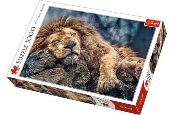 Trefl Puzzle- Alvó oroszlán 1000 db