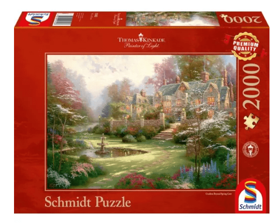 Schmidt Puzzle – Gardens beyond Spring Gate, Thomas Kinkade, 2000 db