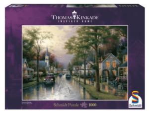 Schmidt Puzzle – Hometown Morning Thomas Kinkade 1000 db