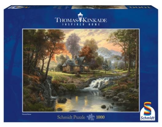 Schmidt Puzzle – Mountain Retreat Thomas Kinkade 1000 db