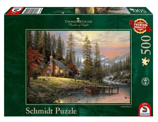 Schmidt Puzzle – A Peaceful Retreat 500 db