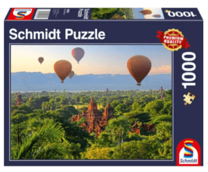 Schmidt Puzzle – Hot air balloons Mandalay Myanmar 1000 db