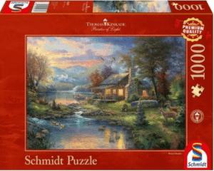 Schmidt Puzzle – Nature's Paradise Thomas Kinkade 1000 db