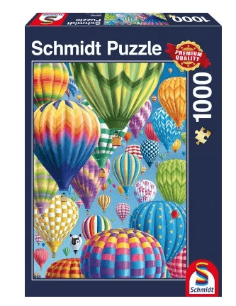Schmidt Puzzle – Colorful Balloons in the Sky 1000 db