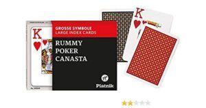 Opti Poker 2x55 lapos nagy indexes
