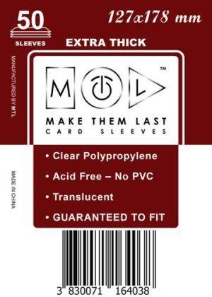 MTL 130x90 mm 25 db kártyavédő Prémium