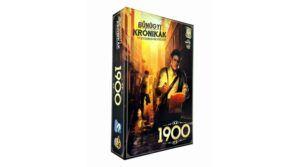 Bűnügyi krónikák 1900 társasjáték
