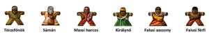 Népek matrica Afrika