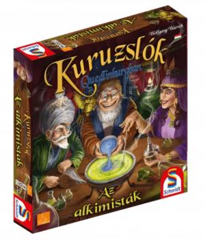 Kuruzslók Quedlinburgban kiegészítő Az alkimisták Társasjáték