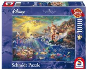 Schmidt Puzzle – The Little Mermaid, Ariel, Disney, 1000 db
