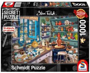 Schmidt Puzzle – Artist studio, 1000 db