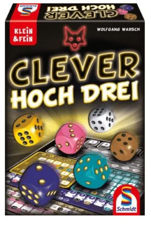 Clever Hoch Drei társasjáték