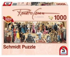 Schmidt Puzzle –A film száz éve, 1000 db