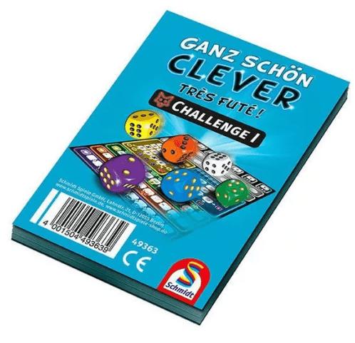Ganz Schön Clever! Challenge Block társasjáték