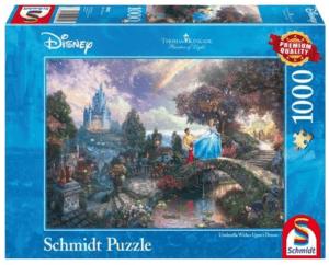 Schmidt Puzzle – Hamupipőke, Disney, 1000 db
