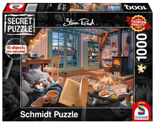 Schmidt Puzzle - At the holiday home, 1000 db