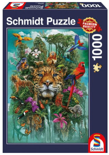 Schmidt Puzzle – King of the jungle, 1000 db
