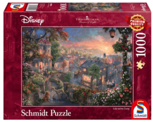 Schmidt Puzzle – Disney, Lady and the Tramp, 1000 db