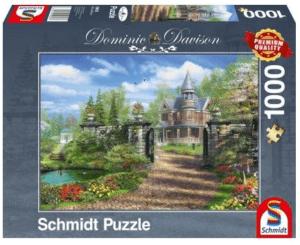 Schmidt Puzzle – Idyllisches Landgut, 1000 db