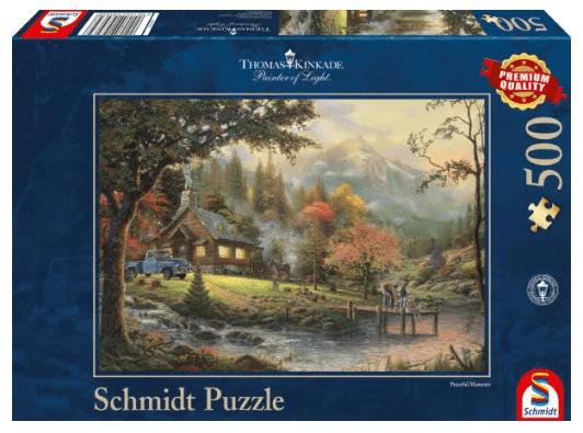 Schmidt Puzzle – Peaceful Moment, Thomas Kinkade, 500 db