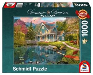 Schmidt Puzzle – Ruhesitz am See, 1000 db