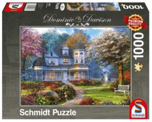 Schmidt Puzzle – Viktorianisches Anwesen, 1000 db