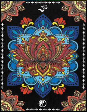 Colorvelvet Bársonykép 47x35 cm Lótuszvirág Mandala