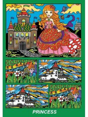 Colorvelvet doboz Hercegnő