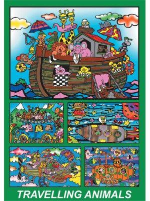 Colorvelvet doboz Noé bárkája