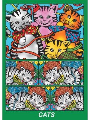Colorvelvet doboz Macskák