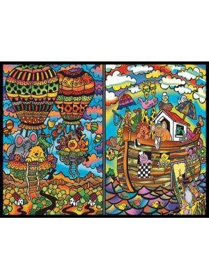 Colorvelvet gumis mappa Noé Bárkája