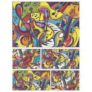 Colorvelvet doboz Hangjegyek