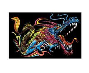 Colorvelvet gumis mappa Sárkány